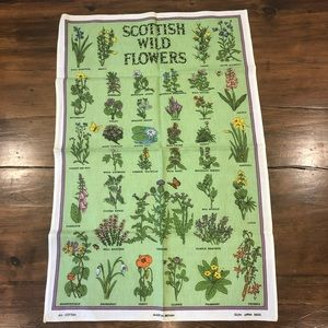 Other - 💌3 for 30 💌Vintage tea towel made in Britain.